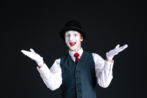 article Classic Mime Artist Performance