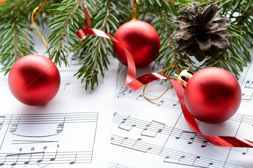 article Christmas Carols by The Napier Street Staff Choir